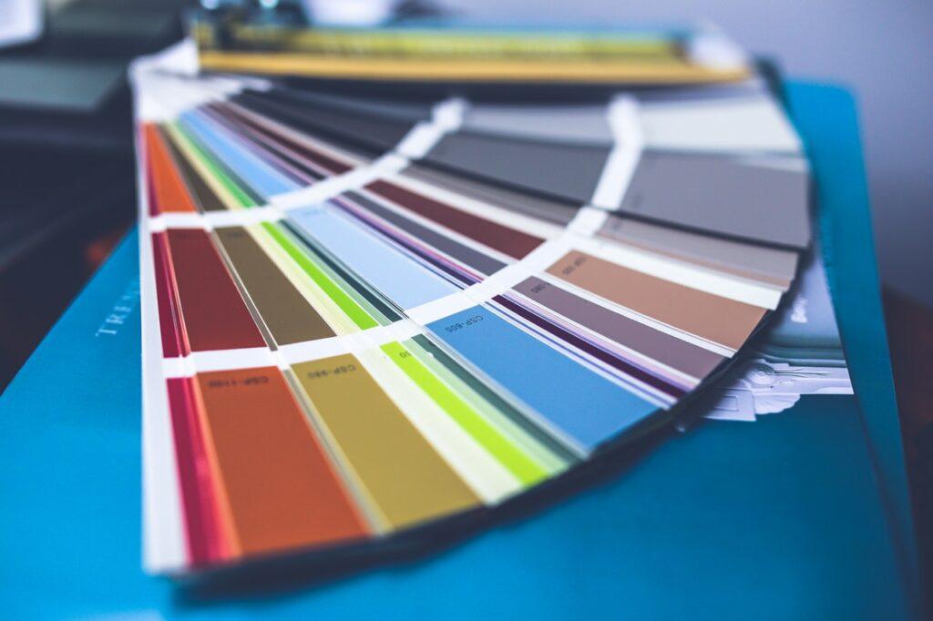 color pallete in branding