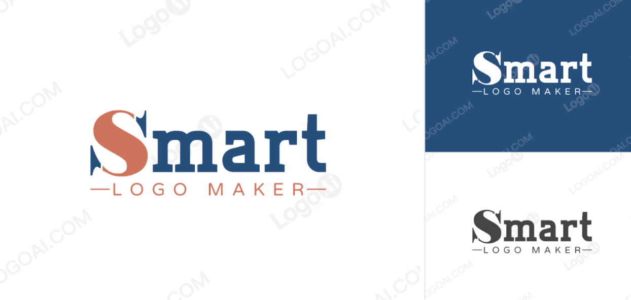 Smart Logo Maker design by LogoAi.com