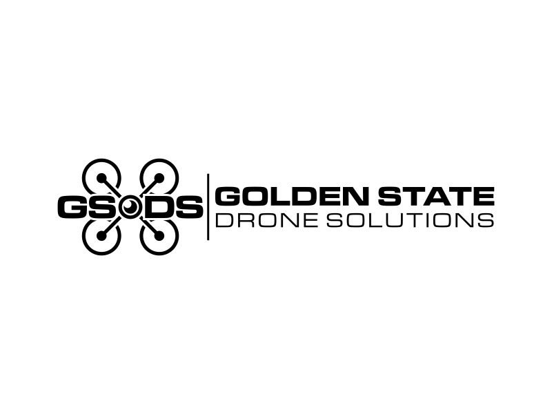 Golden State Drone Solutions Logo Design