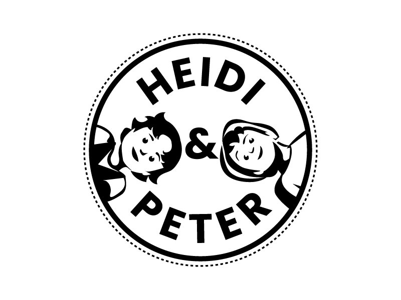 Heidi & Peter Logo Design