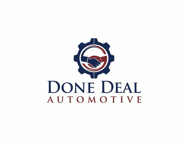 Done Deal Automotive Logo Design
