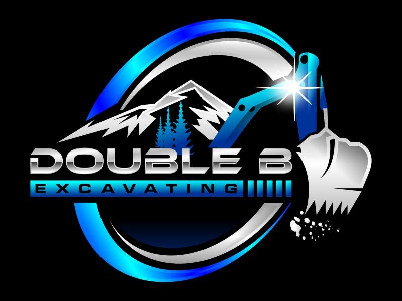 Double B Excavating Logo Design