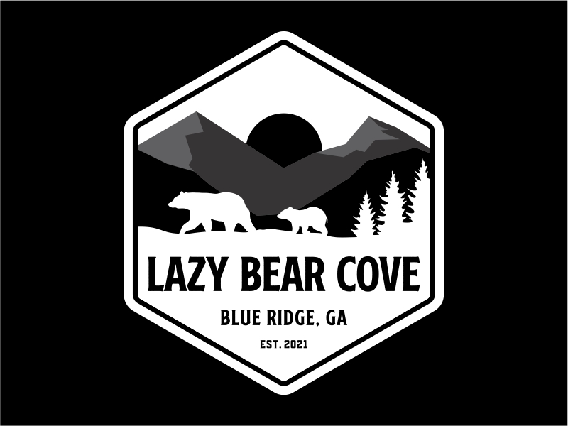 Lazy Bear Cove Logo Design
