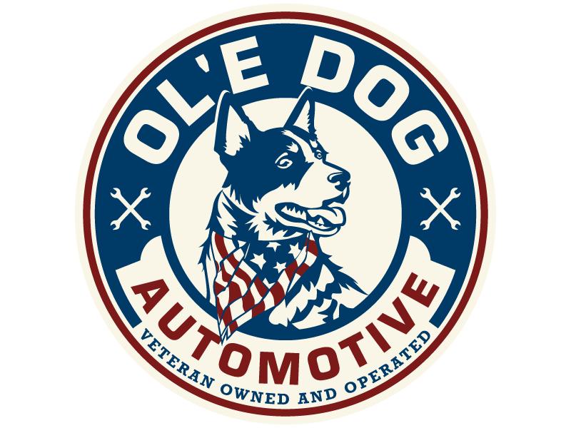 OL'E Dog Automotive Logo Design