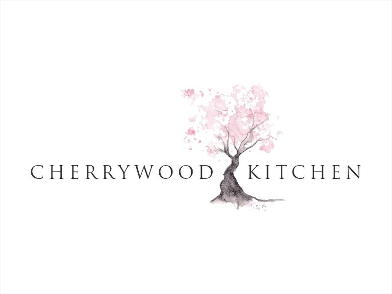Cherrywood Kitchen Logo Design