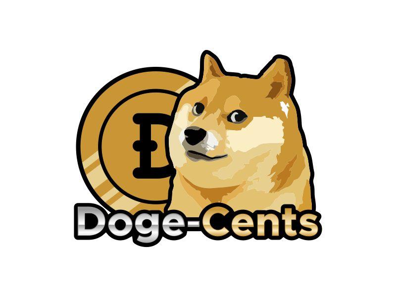 Doge-Cents Logo Design