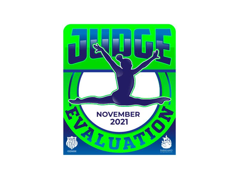 Judge Evaluation Logo Design