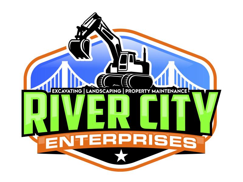 River City Enterprises Logo Design