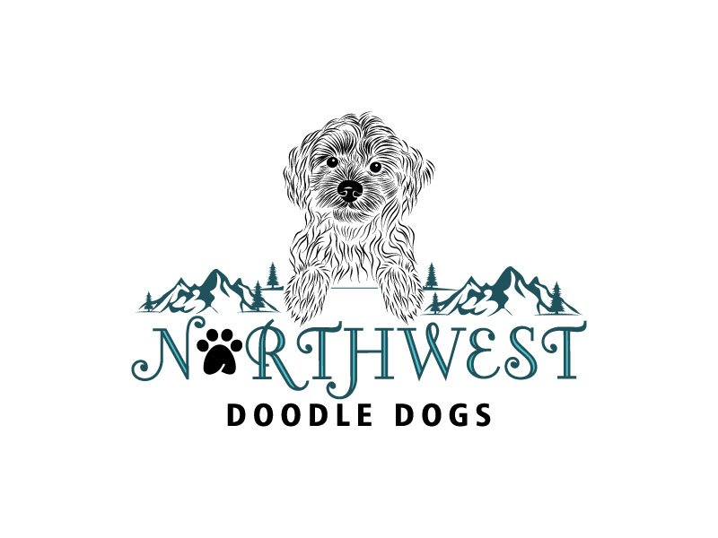 Northwest Doodle Dogs Logo Design