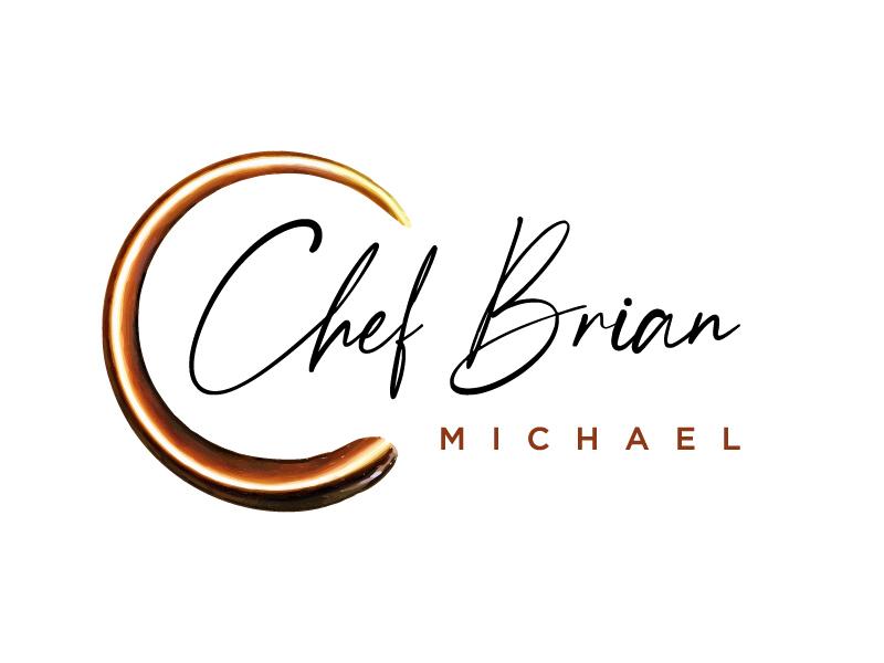 Chef Brian Michael Logo Design
