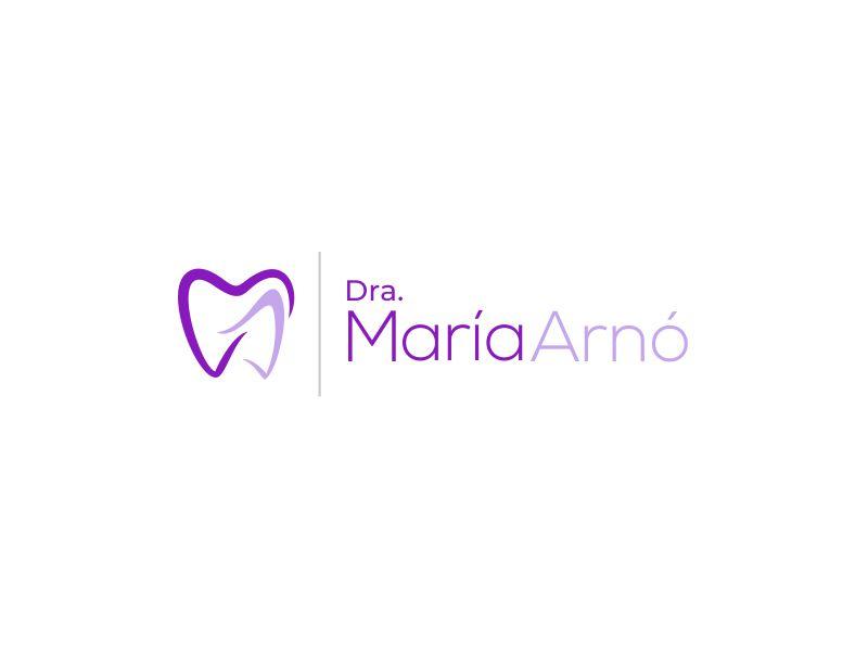 Dra. María Arnó Logo Design