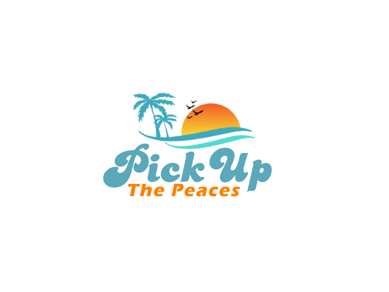 Pick Up The Peaces logo design by ElonStark