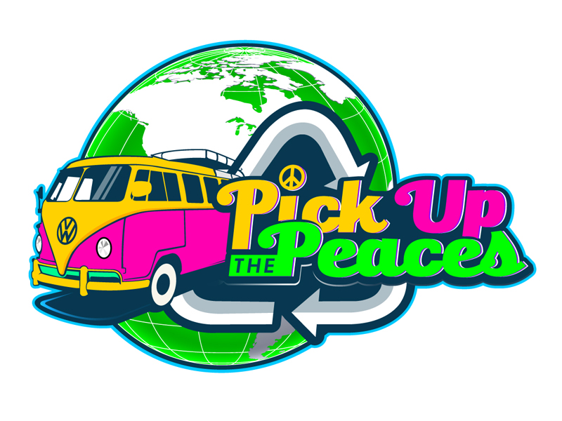 Pick Up The Peaces logo design by DreamLogoDesign