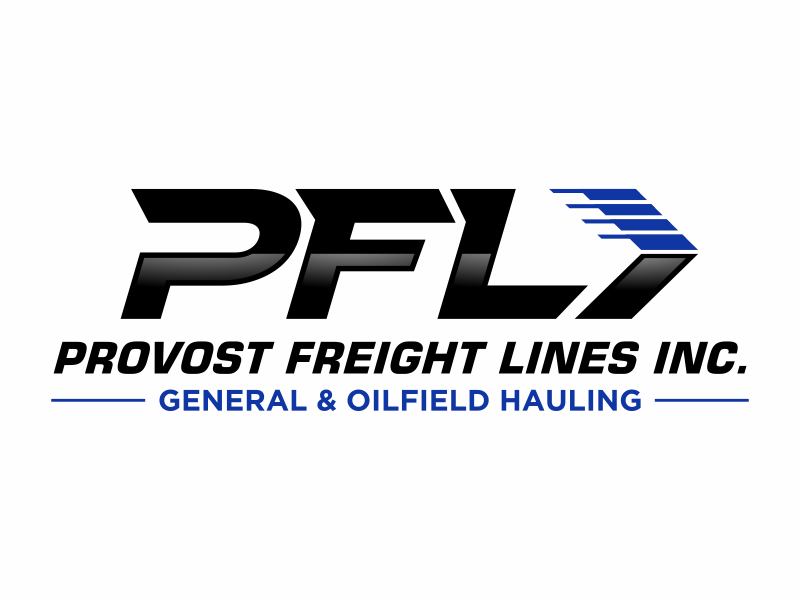 Provost Freight Lines Inc. Logo Design