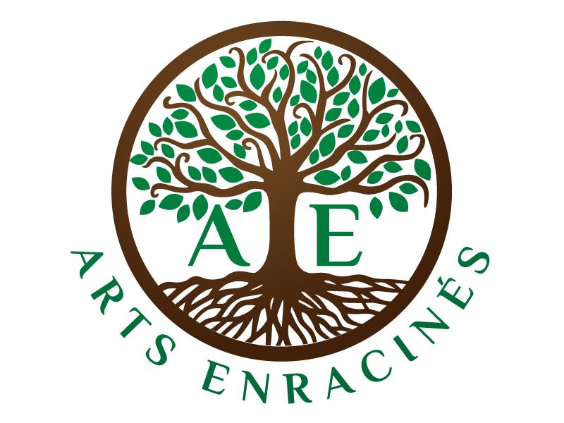 Arts Enracinés Logo Design