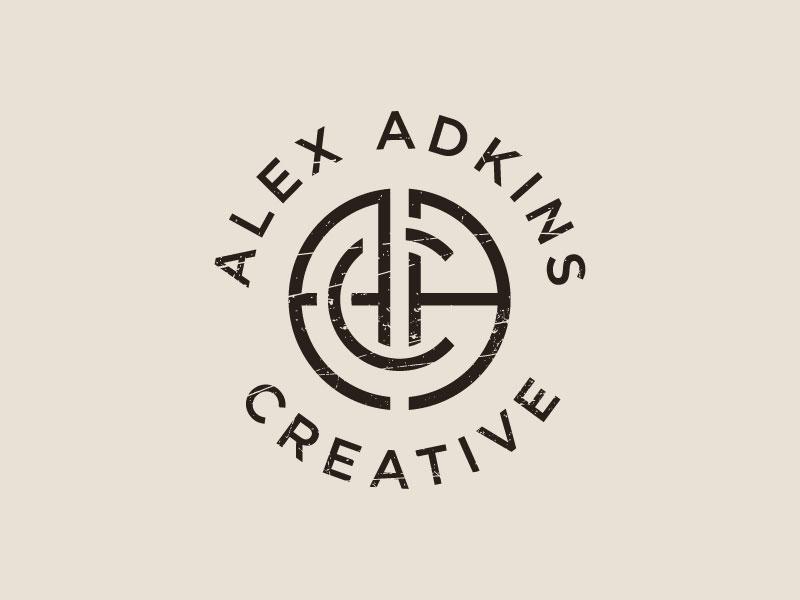 Alex Adkins Creative Logo Design