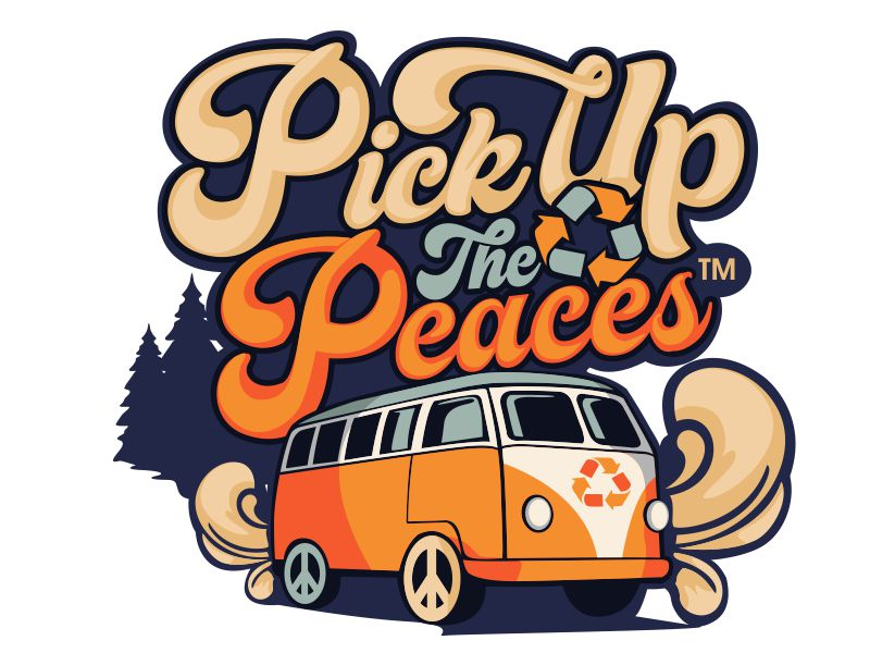 Pick Up The Peaces logo design by veron