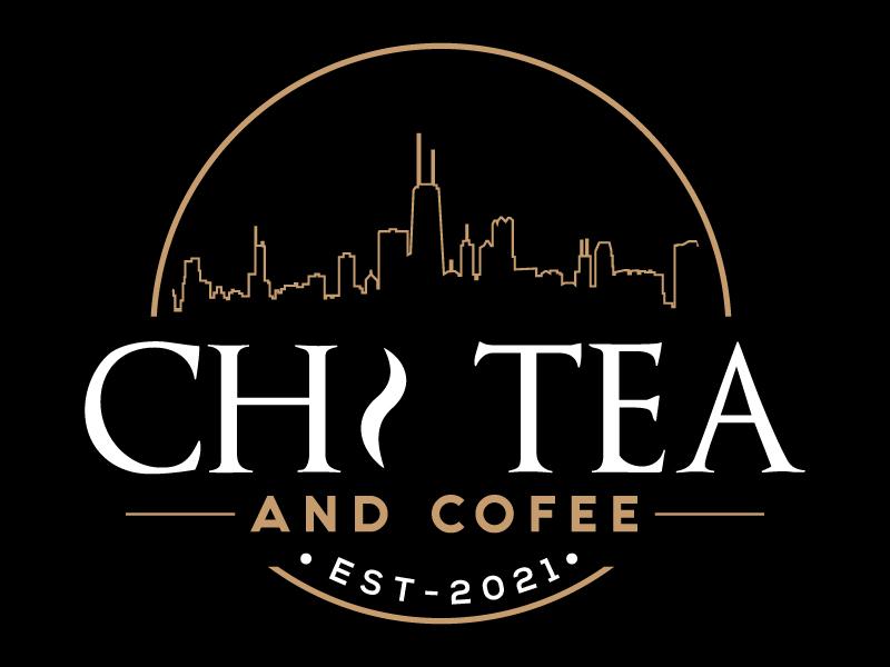 CHI TEA AND COFEE Logo Design