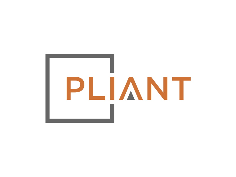 Pliant logo design by puthreeone