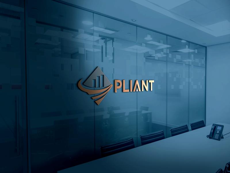 Pliant logo design by Greenlight
