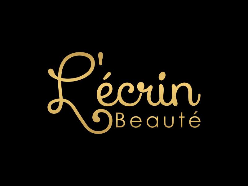 L'écrin Beauté logo design by BlessedArt