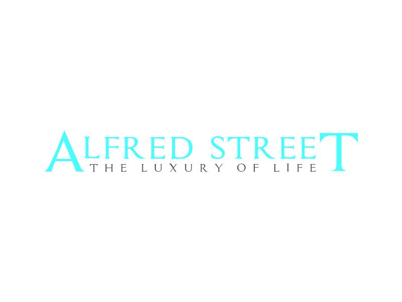 ALFRED STREET logo design by zegeningen