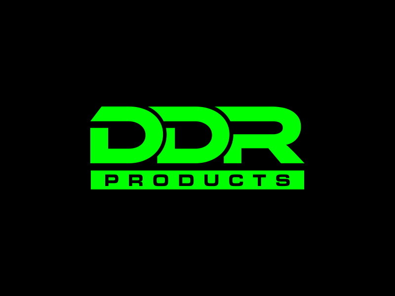 DDR Products logo design by done