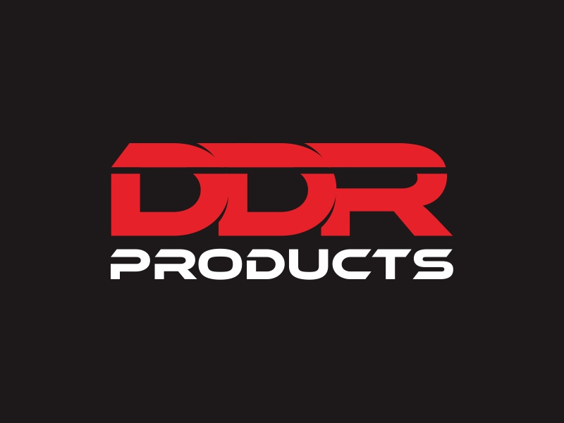 DDR Products logo design by indomie_goreng