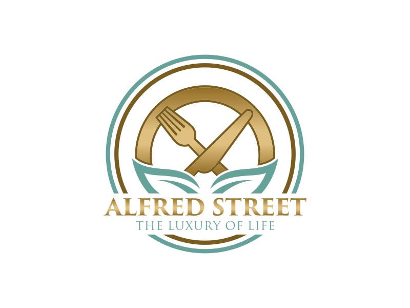 ALFRED STREET logo design by HERO_art 86