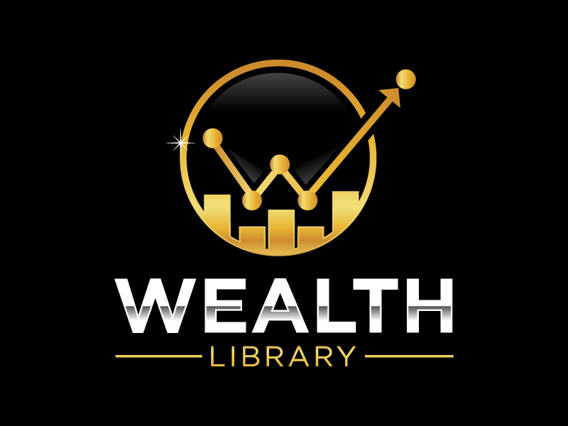 Wealth Library Logo Design