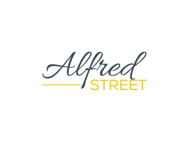 ALFRED STREET logo design by Saraswati
