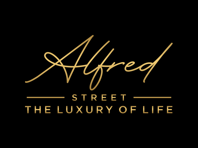 ALFRED STREET logo design by ozenkgraphic