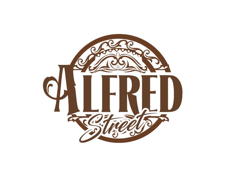 ALFRED STREET logo design by ElonStark