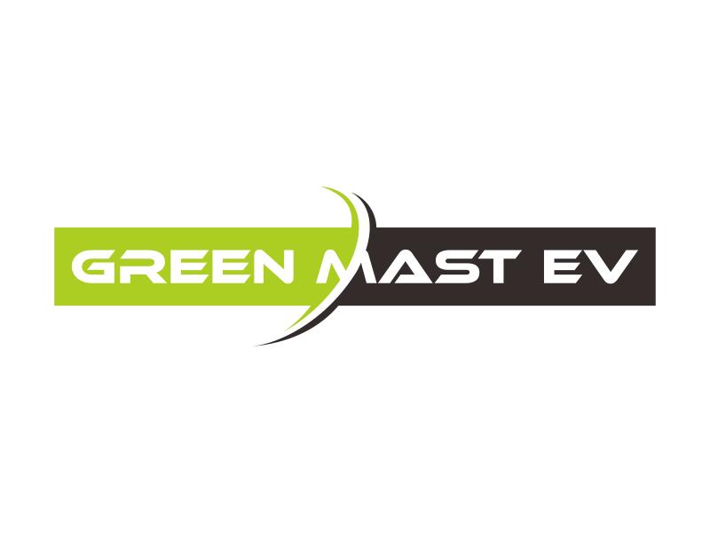 Green MAST EV logo design by veter