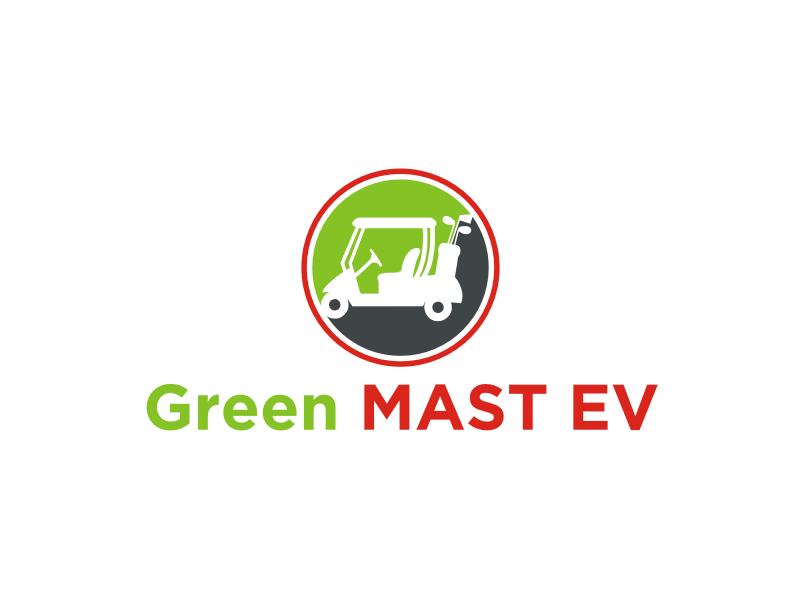 Green MAST EV logo design by Dian..cox