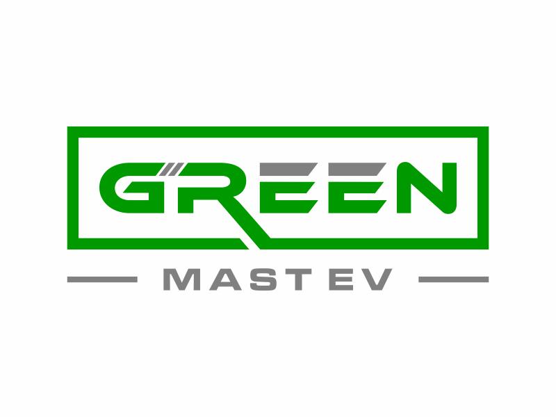 Green MAST EV logo design by ozenkgraphic