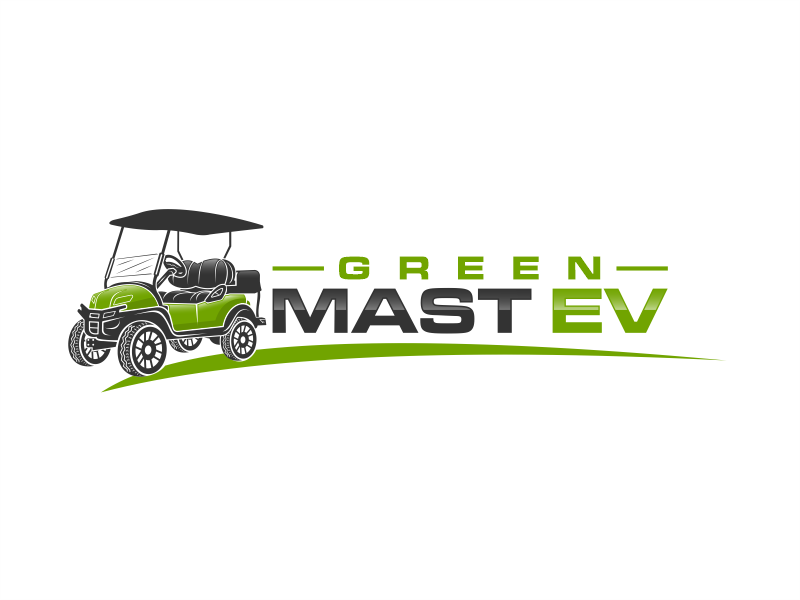Green MAST EV logo design by evdesign