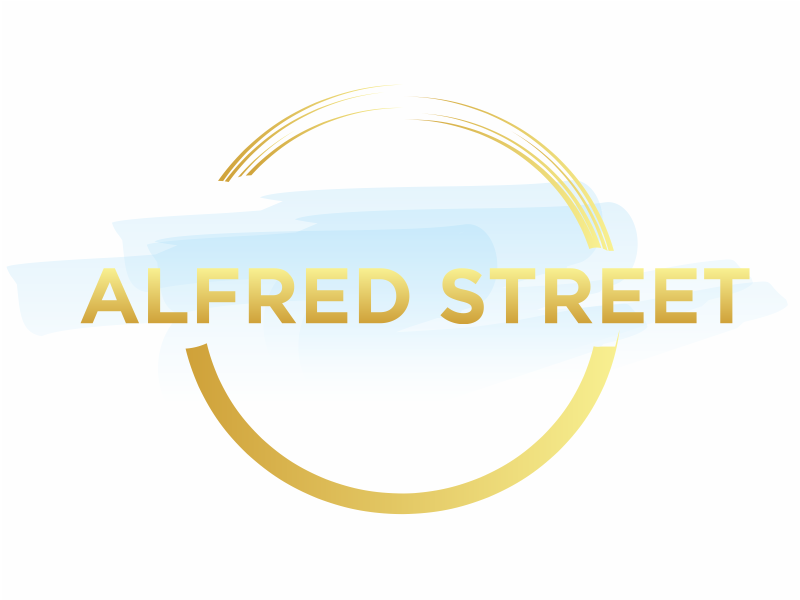 ALFRED STREET logo design by Greenlight