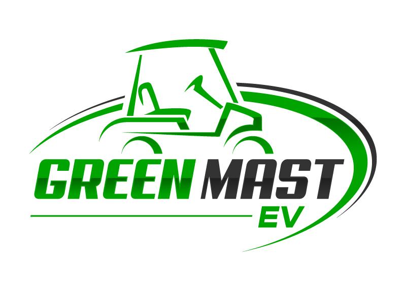 Green MAST EV logo design by jaize