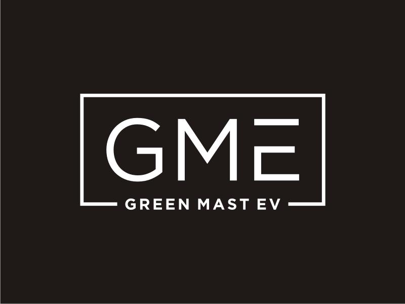 Green MAST EV logo design by Arto moro