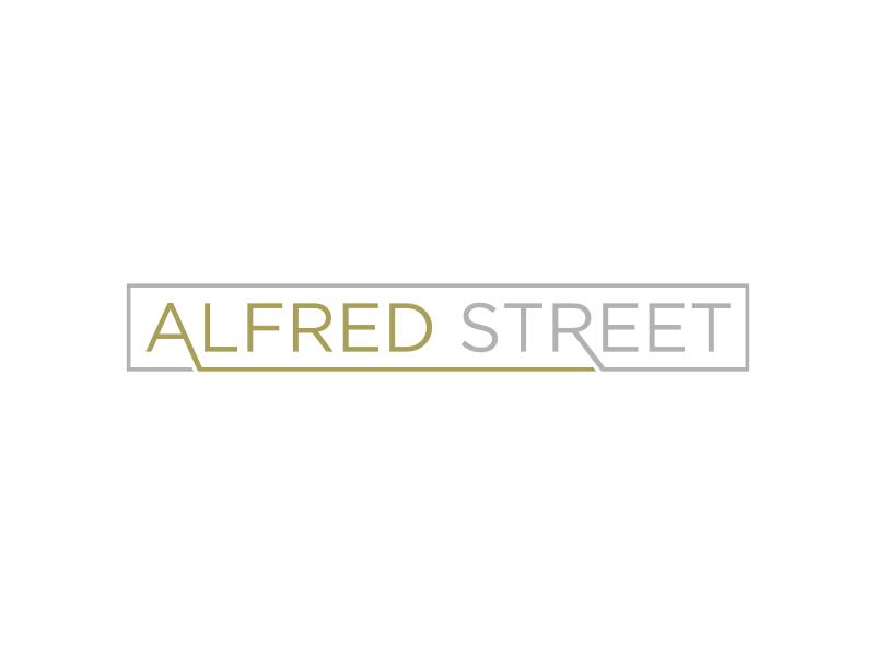 ALFRED STREET logo design by Arto moro