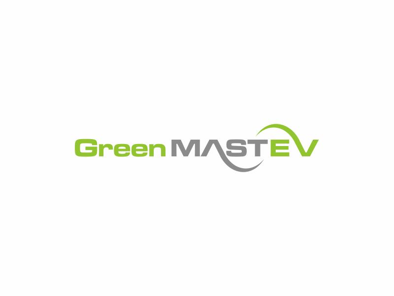 Green MAST EV logo design by hopee