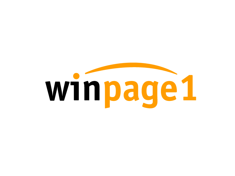 Win Page One logo design by my!dea