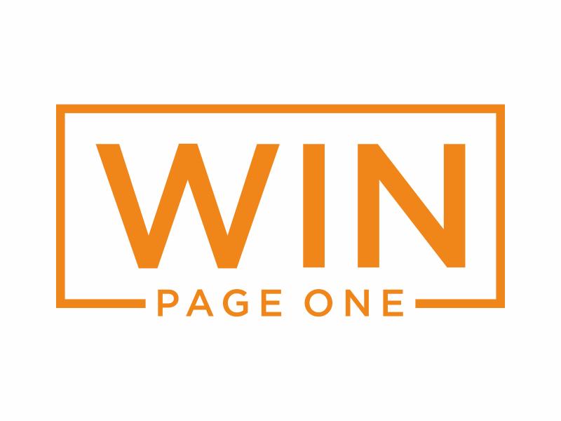 Win Page One logo design by kurnia