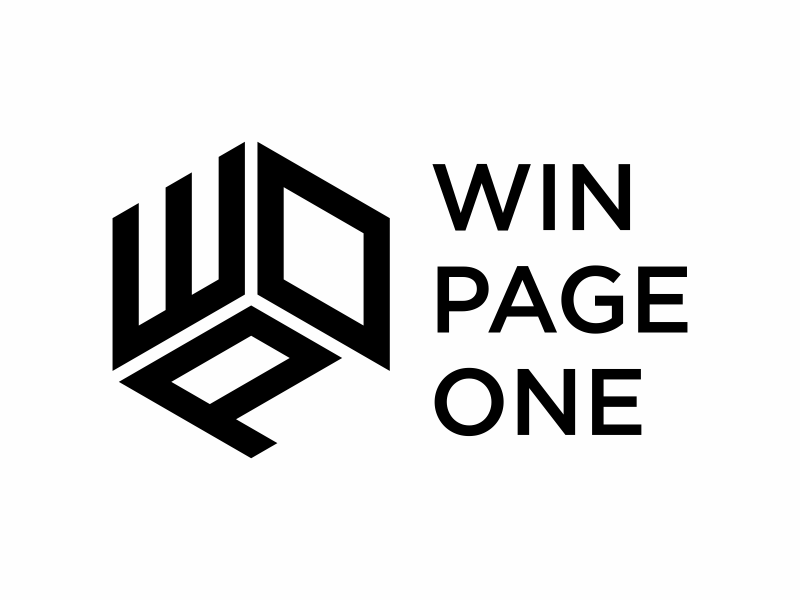 Win Page One logo design by Franky.