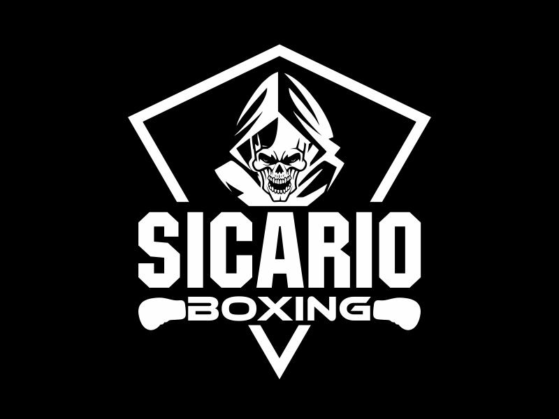 Sicario Boxing logo design by cikiyunn