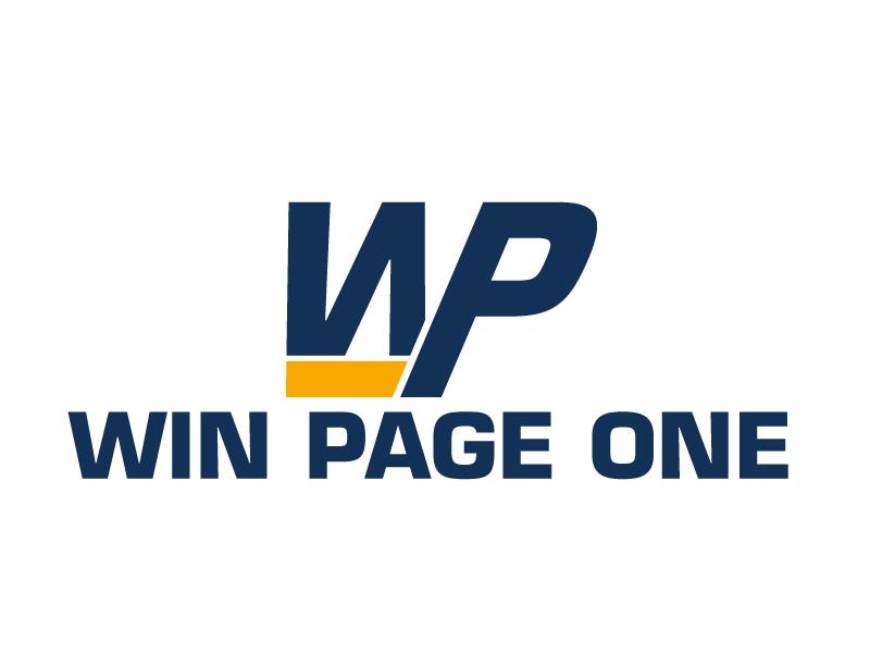 Win Page One logo design by ElonStark