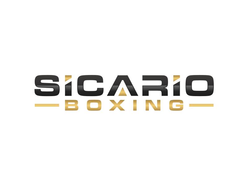 Sicario Boxing logo design by Arto moro