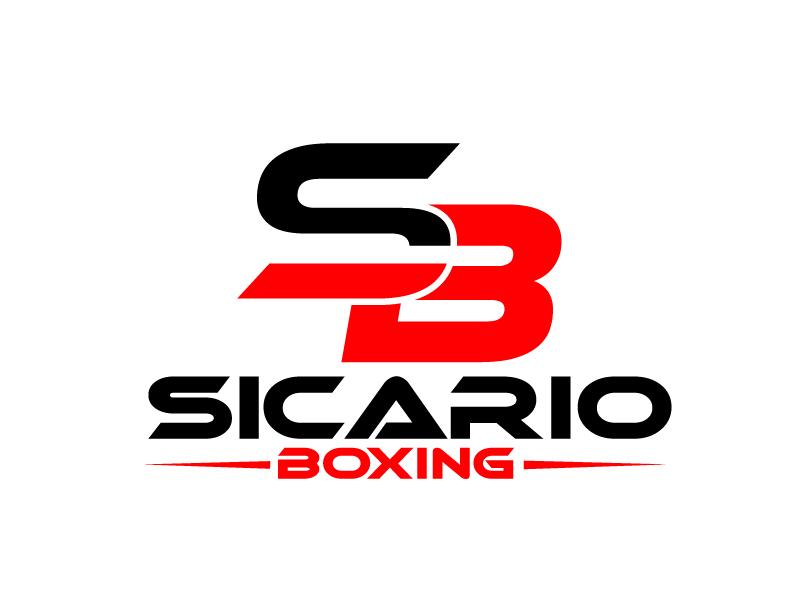 Sicario Boxing logo design by ElonStark