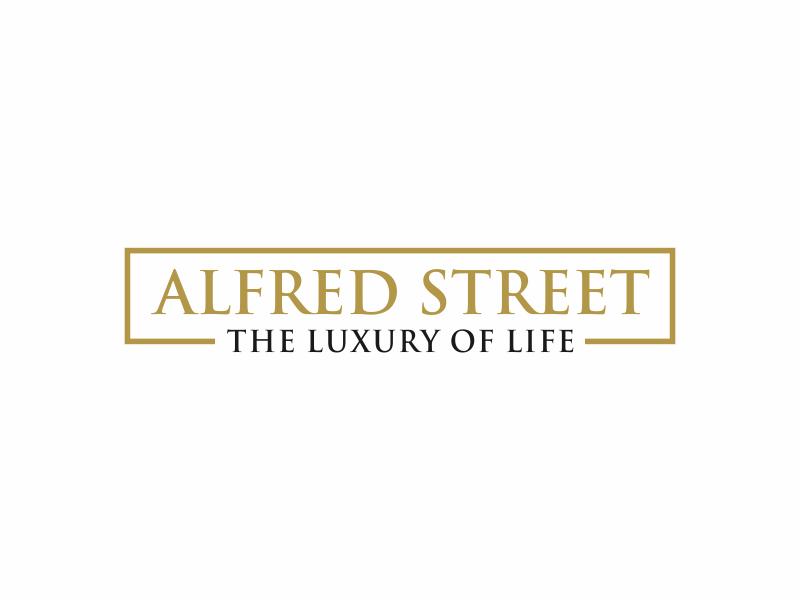ALFRED STREET Logo Design
